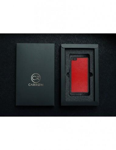 Etui premium fornir, case na smartfon APPLE iPhone 11 Pro. Fornir dąb szary ze srebrną blaszką.