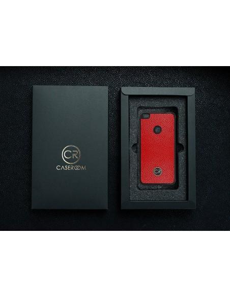 Etui premium fornir, case na smartfon APPLE iPhone XS Max. Fornir dąb szary ze srebrną blaszką.