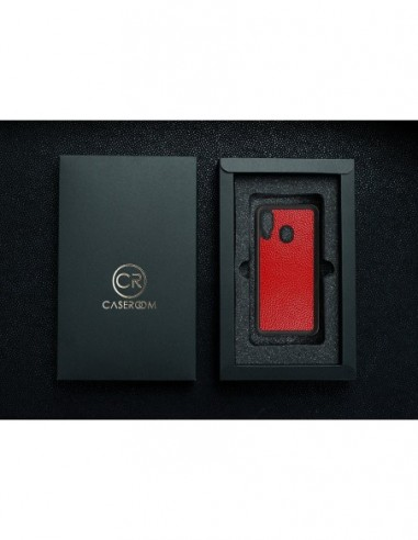 Etui premium fornir, case na smartfon APPLE iPhone 7 Plus. Fornir dąb ze srebrną blaszką.