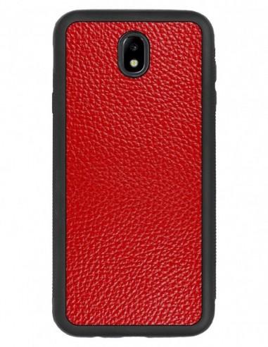 Etui premium fornir, case na smartfon APPLE iPhone 7. Fornir heban brązowy ze srebrną blaszką.