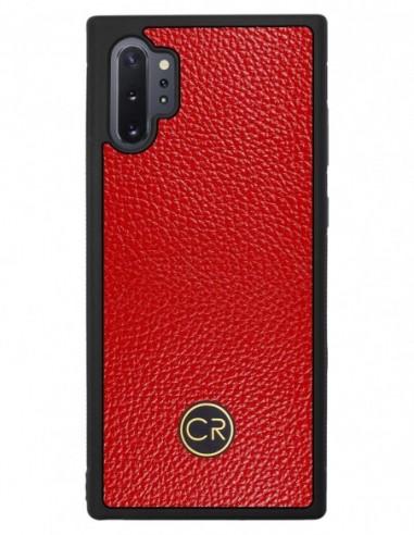 Etui premium fornir, case na smartfon APPLE iPhone 7 PLUS. Fornir heban brązowy ze srebrną blaszką.