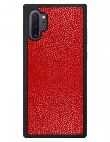 Etui premium fornir, case na smartfon APPLE iPhone 8 PLUS. Fornir heban brązowy ze srebrną blaszką.