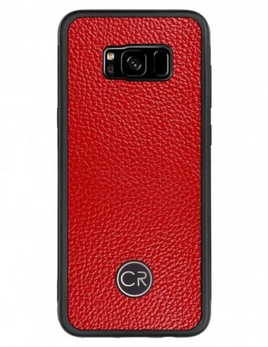 Etui premium fornir, case na smartfon HUAWEI MATE 10 LITE. Fornir heban brązowy ze srebrną blaszką.