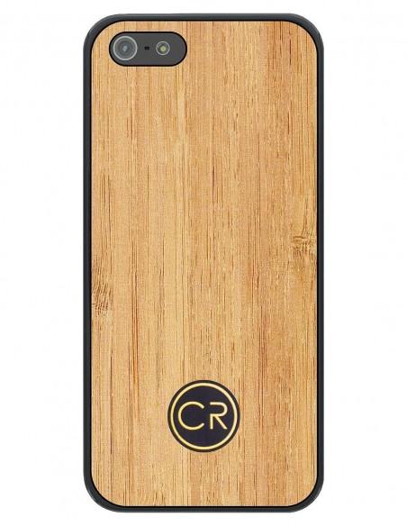 Etui premium fornir, case na smartfon Apple Iphone 11. Fornir palisander rio ze srebrną blaszką.