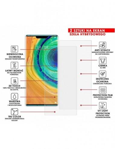 Własne zaprojektowane etui gumowe BLACK MAT, case na smartfon HUAWEI Y6 2018 Prime