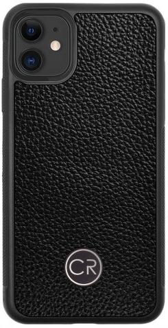 APPLE iPhone 11 - skóra floater czarna