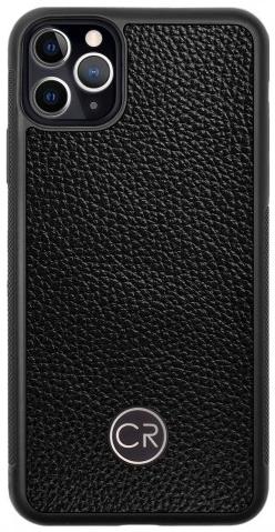 APPLE iPhone 11 PRO MAX - skóra floater czarna
