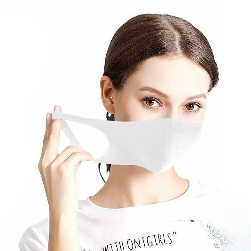 Maseczka ochronna na twarz street wear biała