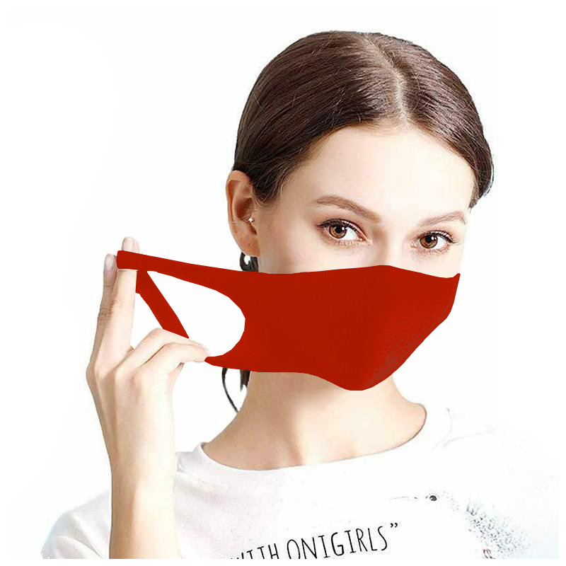 Maseczka ochronna na twarz street wear czerwona
