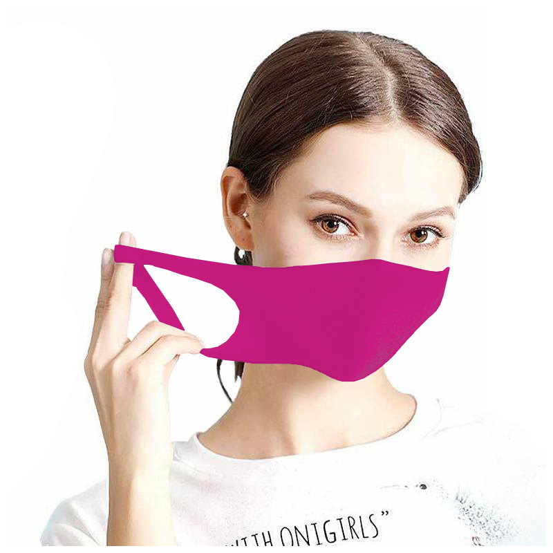 Maseczka ochronna na twarz street wear purpurowa
